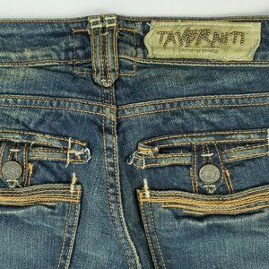 Taverniti So Camo Lined Inner Pockets Janis Jeans